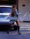 Kylie Jenner Leaves Meeting Calabasas