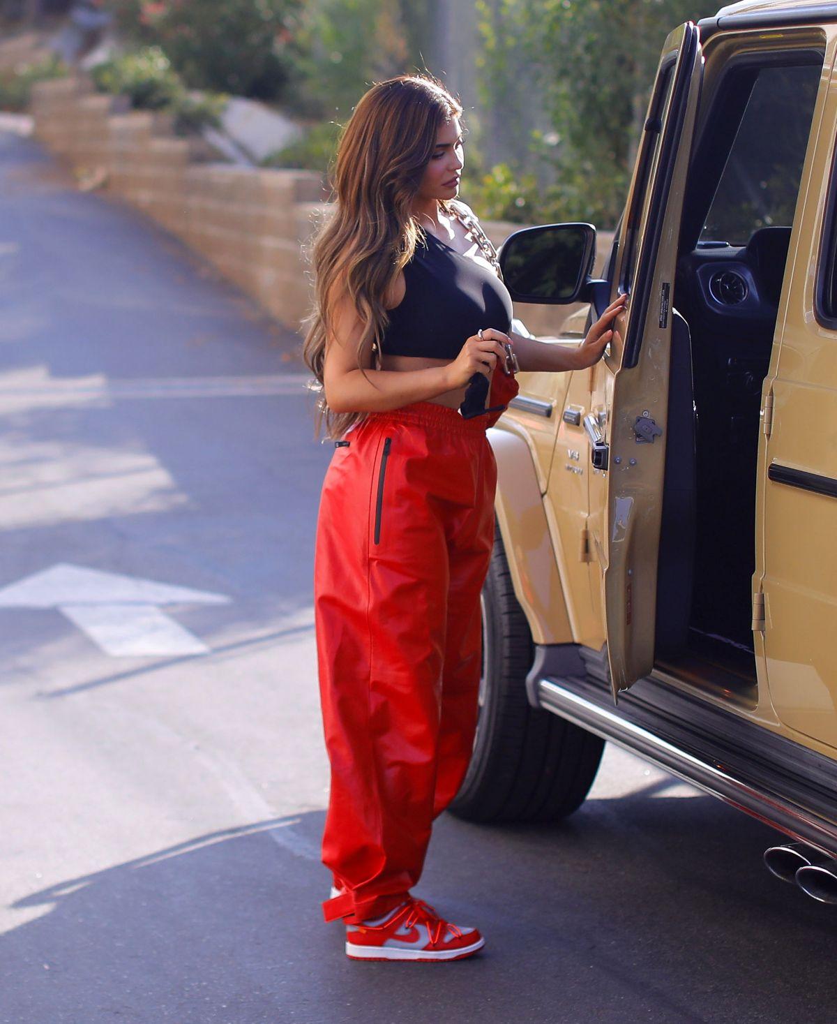 Kylie Jenner Leaves Photoshoot Los Angeles