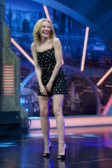 Kylie Minogue El Hormiguero Show Madrid