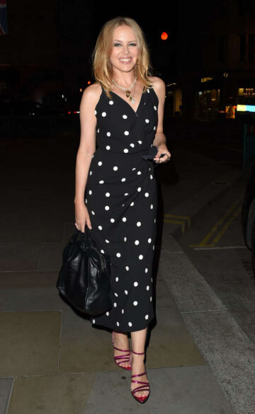 Kylie Minogue Night Out London