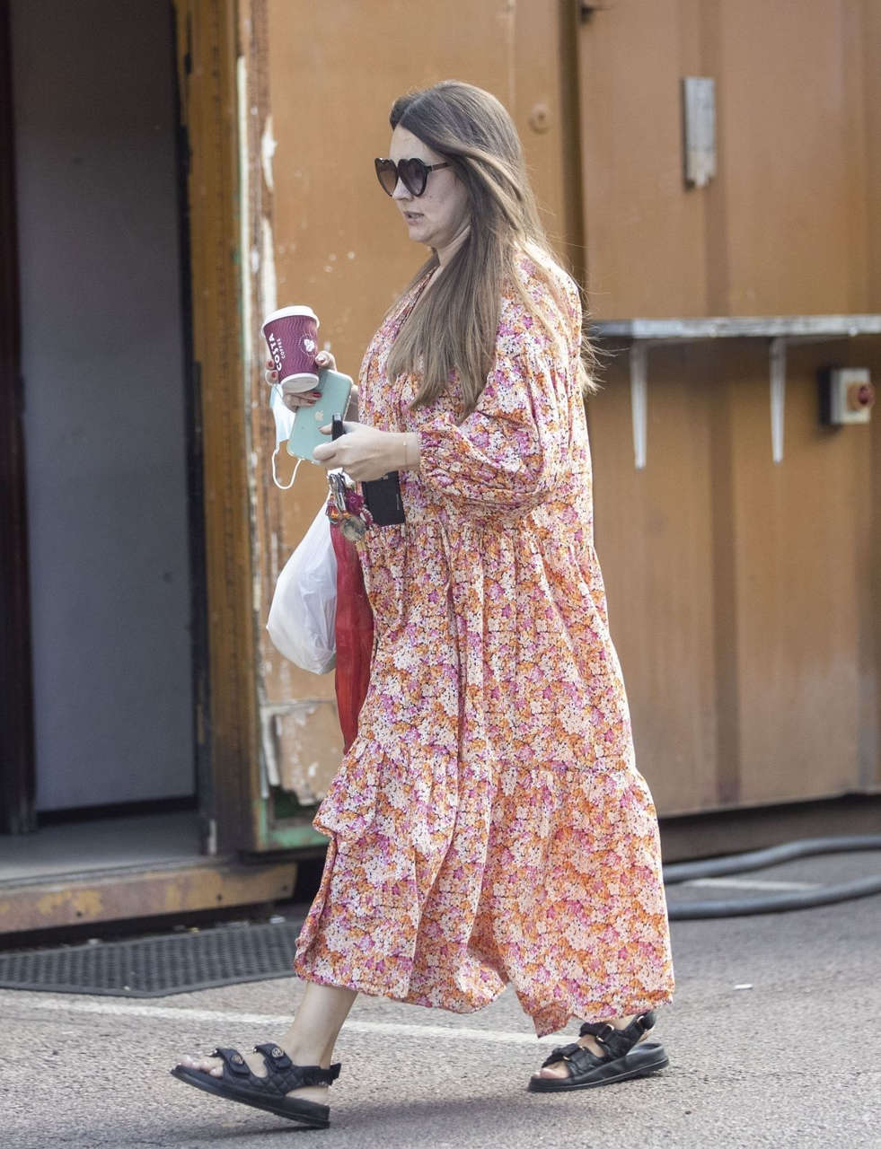 Lacey Turner Out About London