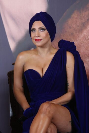 Lady Gaga Cheek Cheek Press Conference Brussels