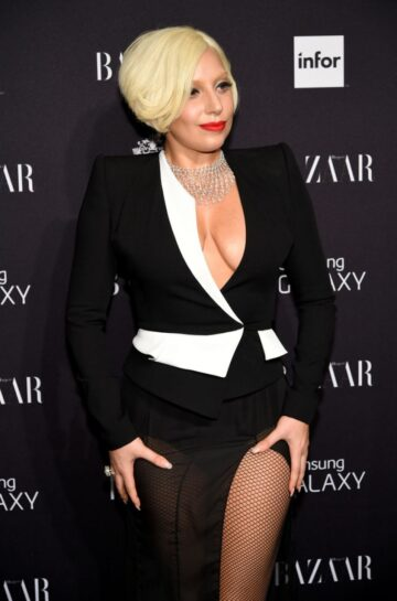 Lady Gaga Harpers Bazaar Celebrates Icons By Carine Roitfeld New York