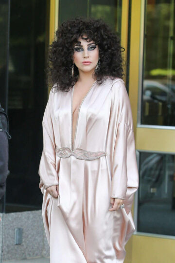 Lady Gaga Leaves Her Apartment New York