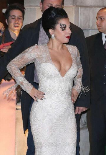 Lady Gaga Leaves Her Hotel London