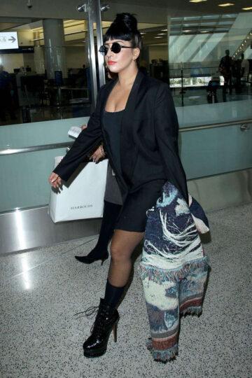 Lady Gaga Los Angeles International Airport