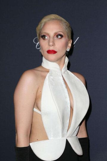 Lady Gaga Weinstein Company S Pre Oscar Dinner Beverly Hills
