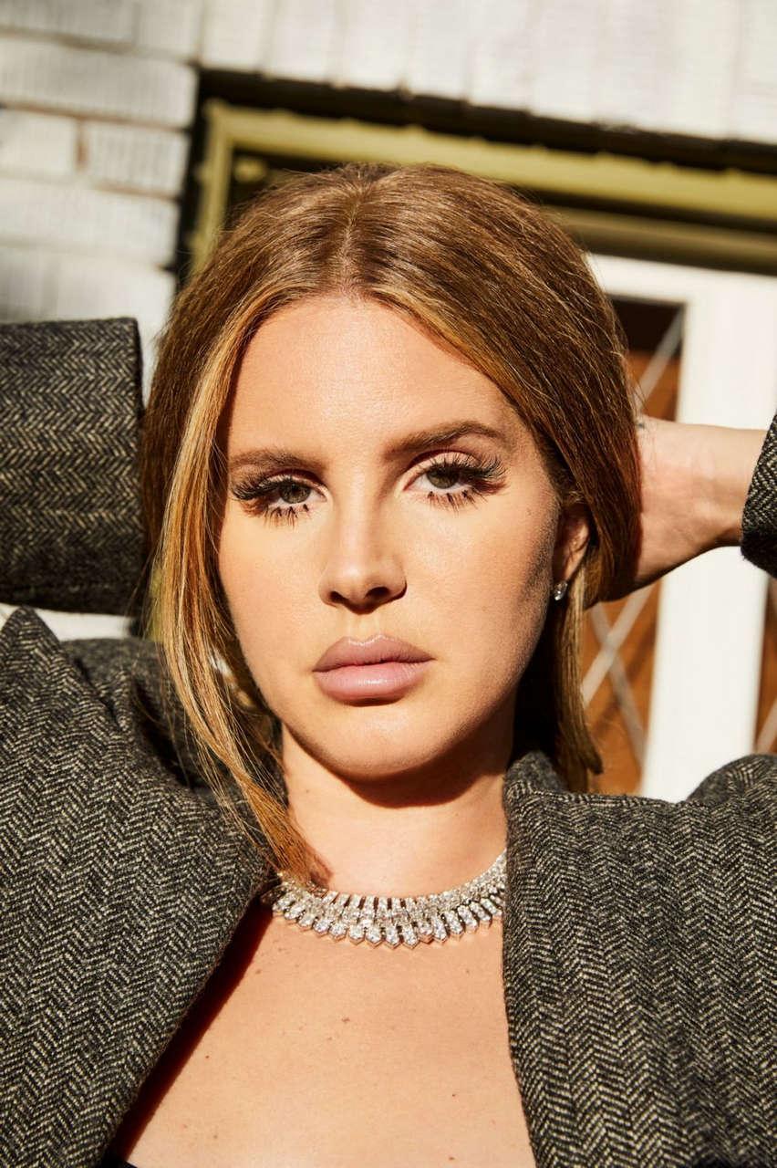 Lana Del Rey For Interview Magazine September