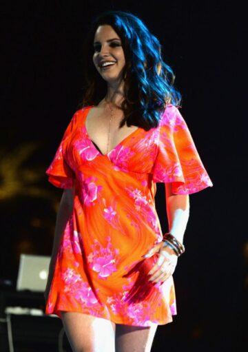 Lana Del Rey Performs Coachella Music Arts Festival