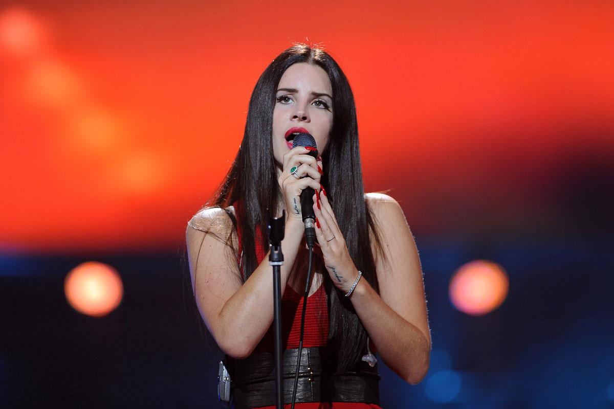 Lana Del Rey Performs Concert Warsaw Poland