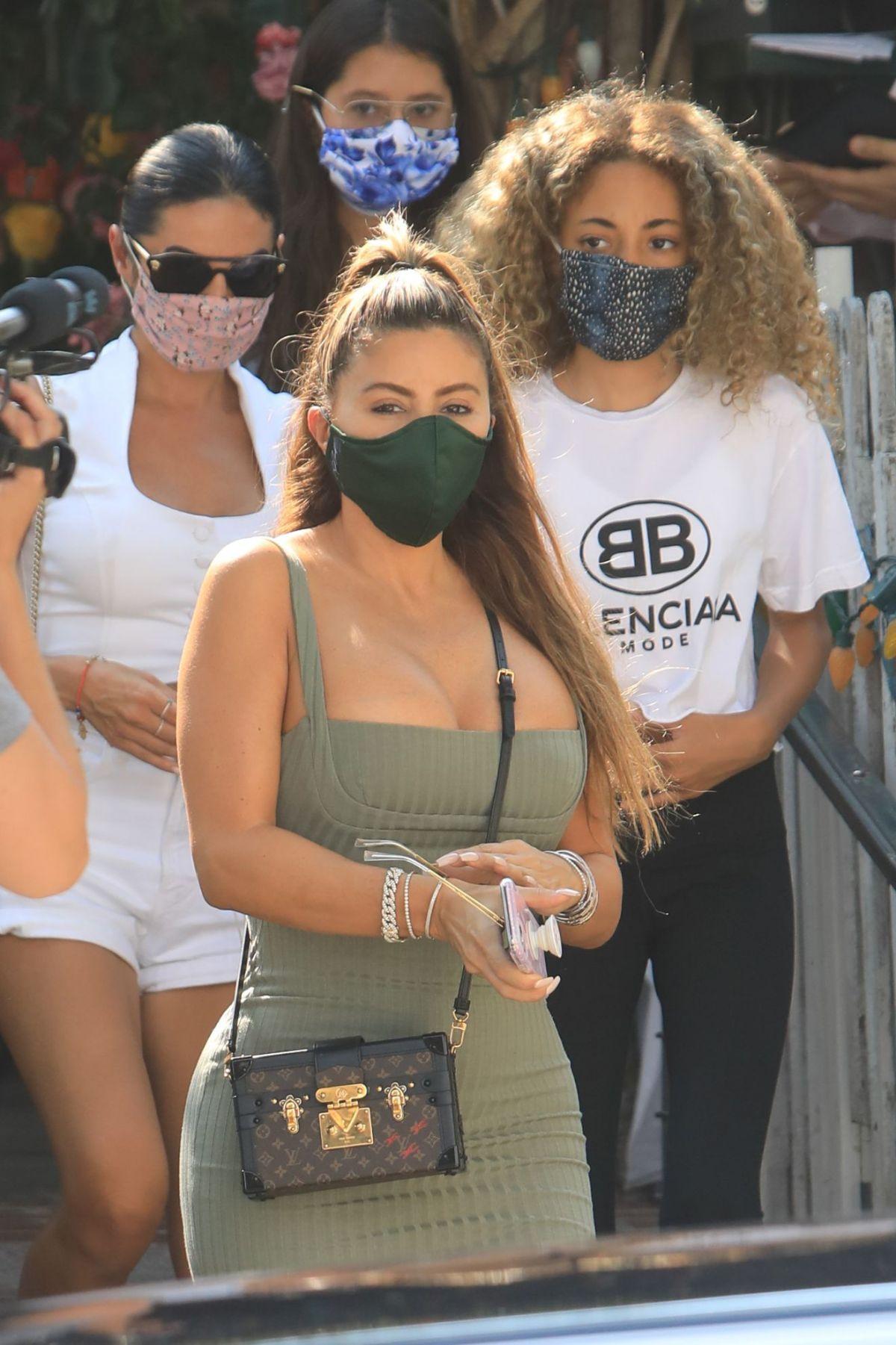 Larsa Pippen Tight Dress Ivy Beverly Hills
