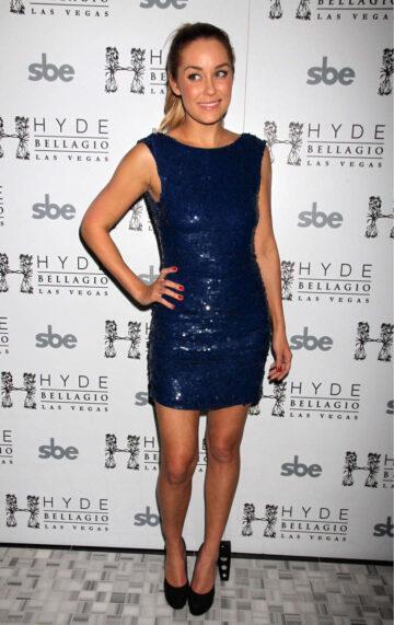 Lauren Conrad Celebrates 26th Birthday Hyde Bellagio Hotel Casino
