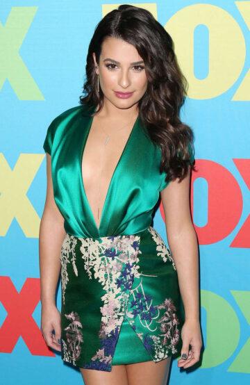 Lea Michele Fox Upfront Presentation New York