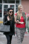 Lea Michele Heather Morris Out Shopping West Hollywood