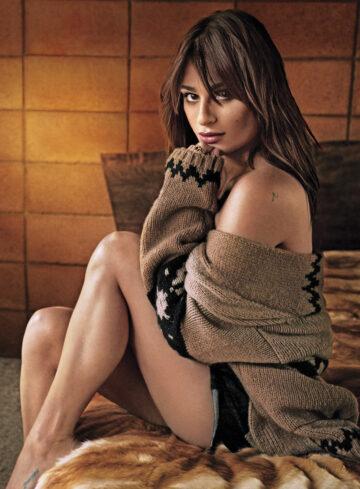 Lea Michele Marie Claire Magazine