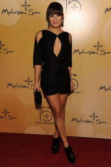 Lea Michele Mohegan Sun Casino Anniversary Celebration