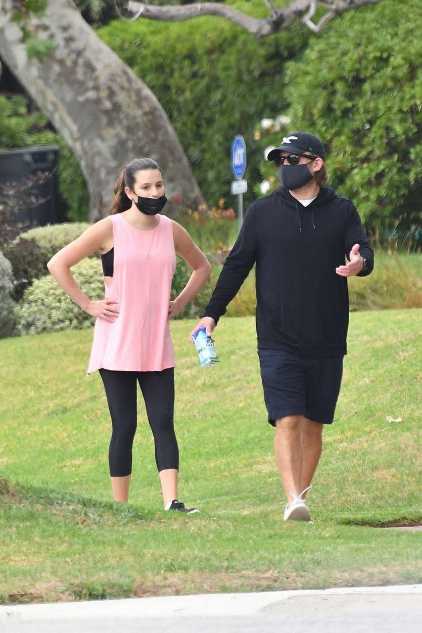 Lea Michele Zandy Reich Santa Monica