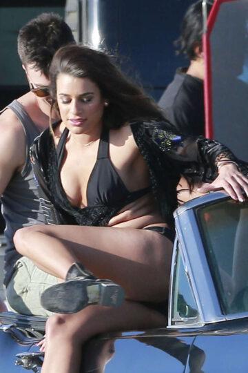 Lea Michle Swimsuit Music Video Set Los Angeles