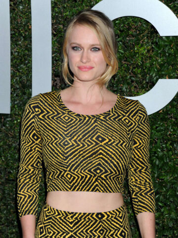 Leven Rambin Michael Kors Launch Claiborne Swanson Franks Young Hollywood