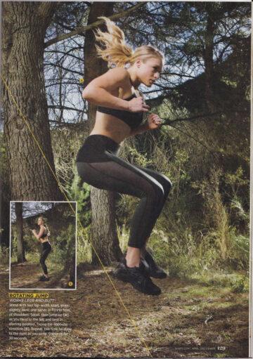 Leven Rambin Shape Magazine April 2012 Issue