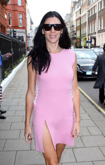 Liberty Ross Leaves Her Hotel London