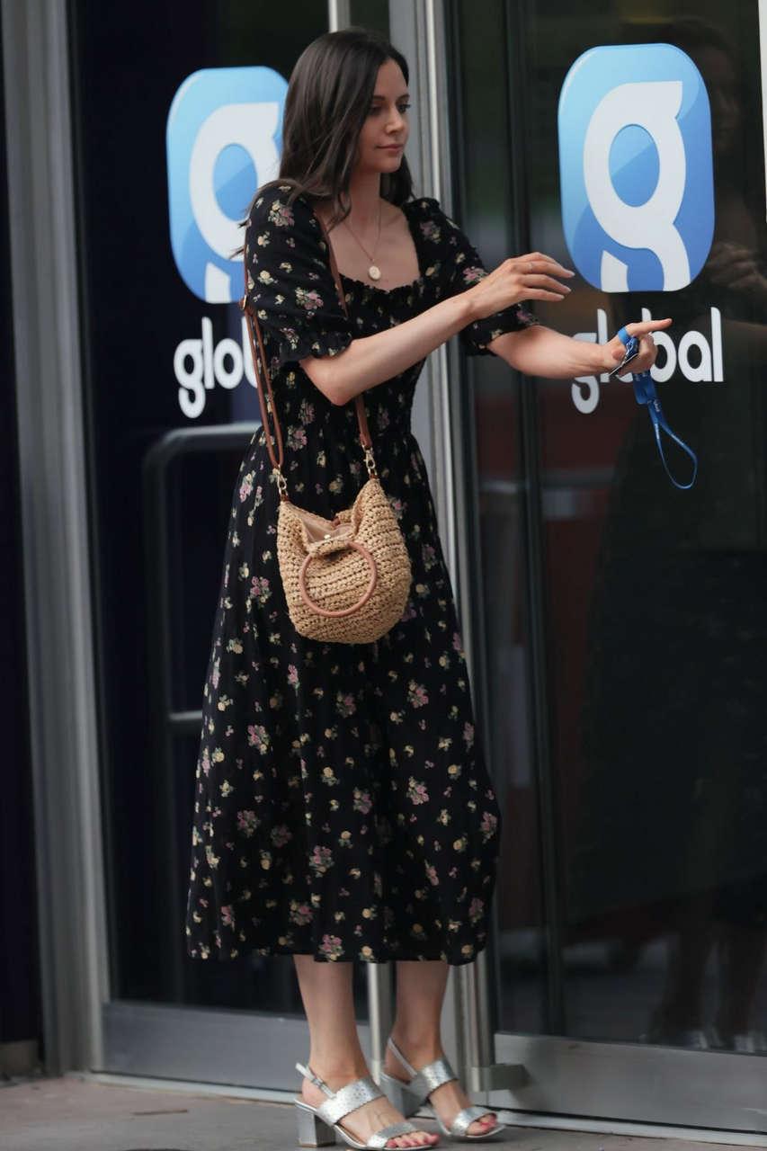 Lilah Parsons Arrives Heart Radio London