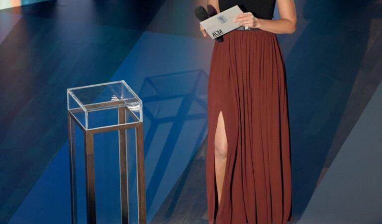 Lily Aldridge 55th Academy Lcountry Music Awards Nashville (5 photos)