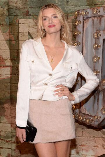 Lily Donaldson Chanel Dinner Celebrating No 5 Film New York