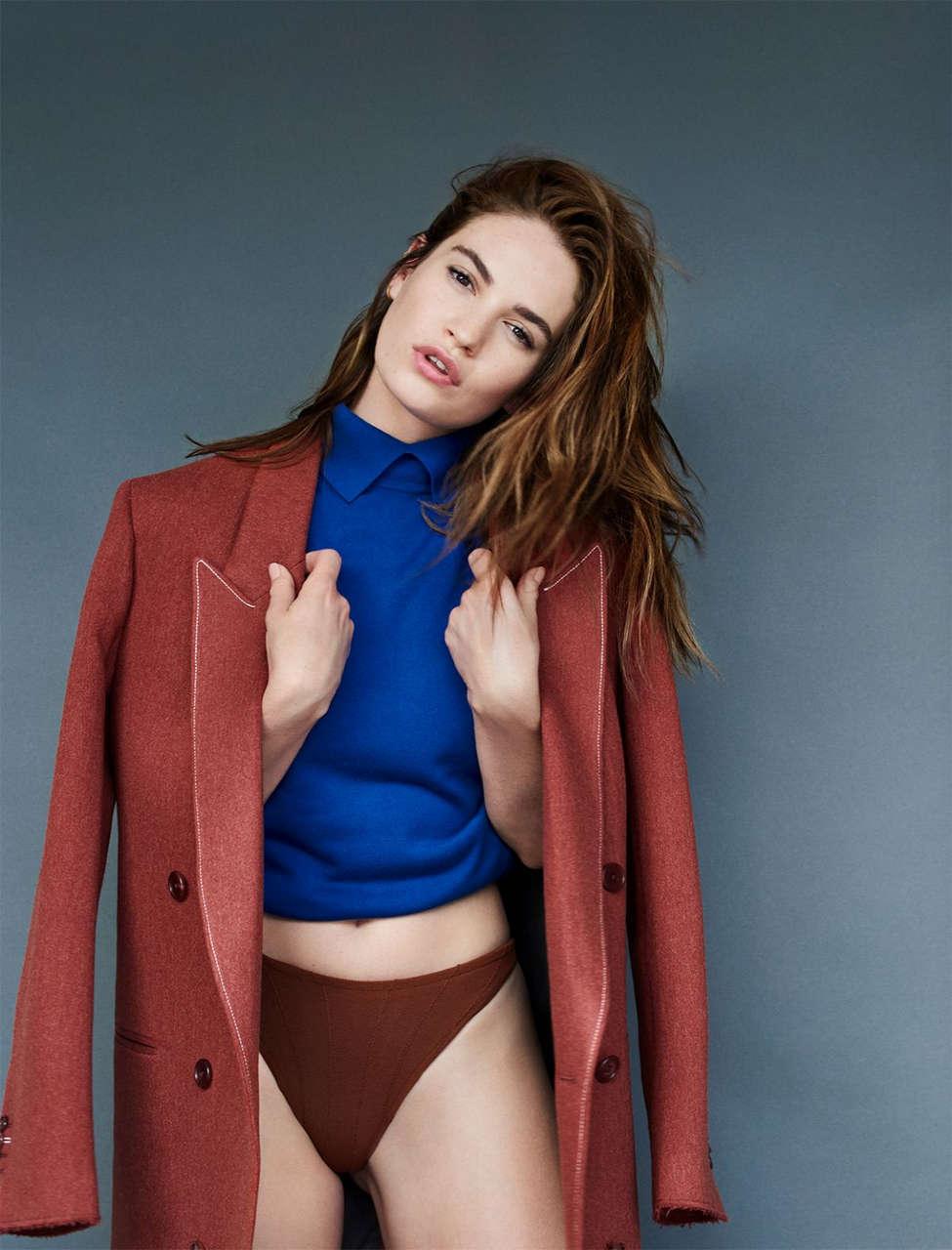 Lily James For Shape Magazine September