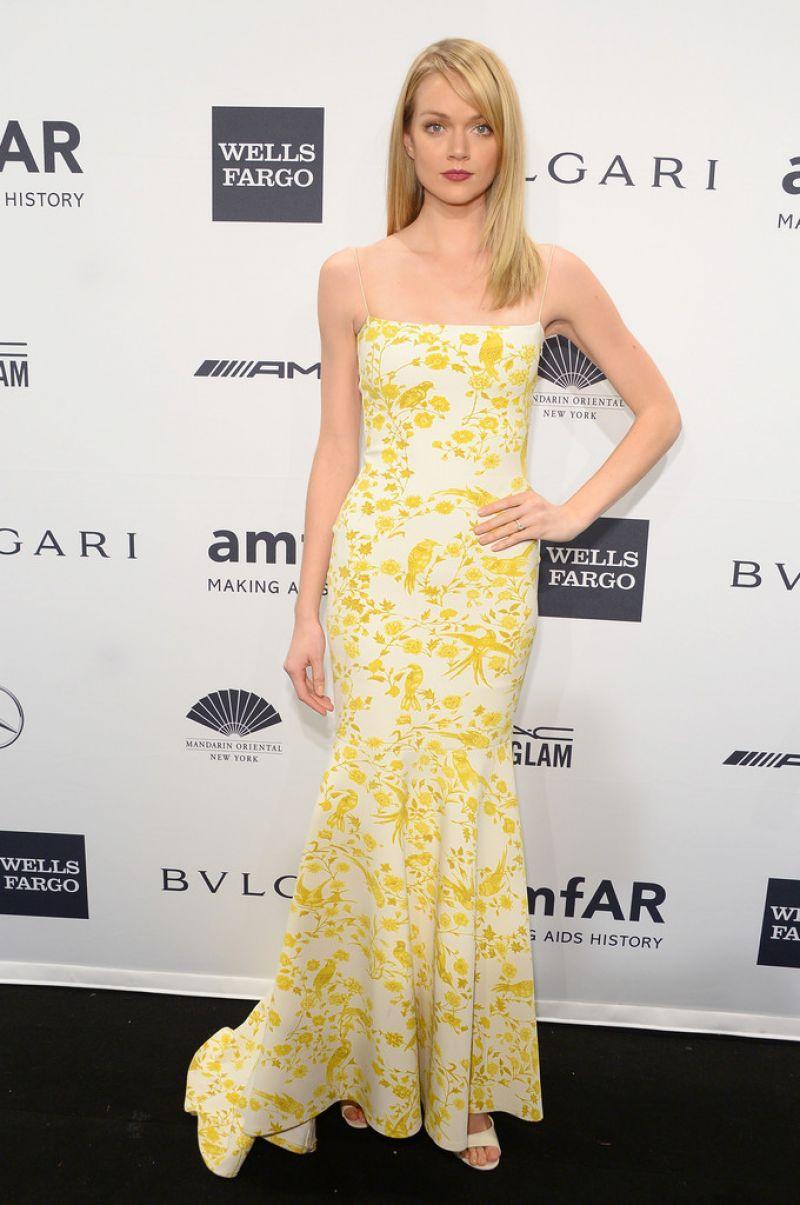 Lindsay Ellingson 2014 Amfar Gala New York