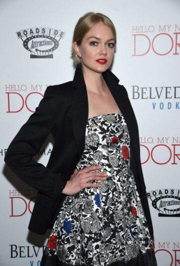Lindsay Ellingson Hello My Name Is Doris Premiere New York