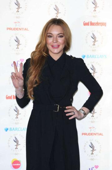 Lindsay Lohan 59th Women Year Lunch London
