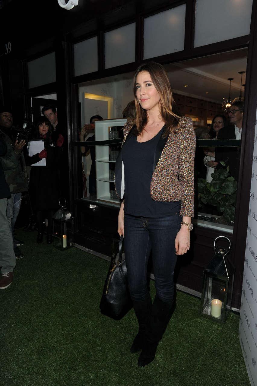 Lisa Snowdon Caudalie Boutique Launch London