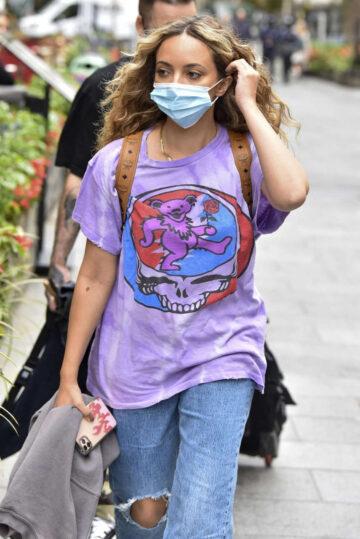 Little Mix Arrives Global Radio London