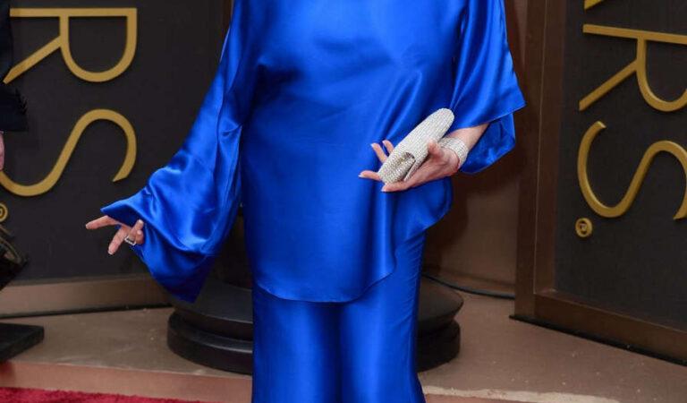 Liza Minnelli 86th Annual Academy Awards Hollywood (2 photos)