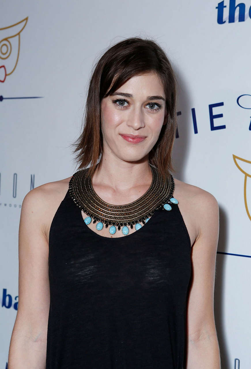 Lizzy Caplan Tie Knot Charity Launch Benefit Hollywood