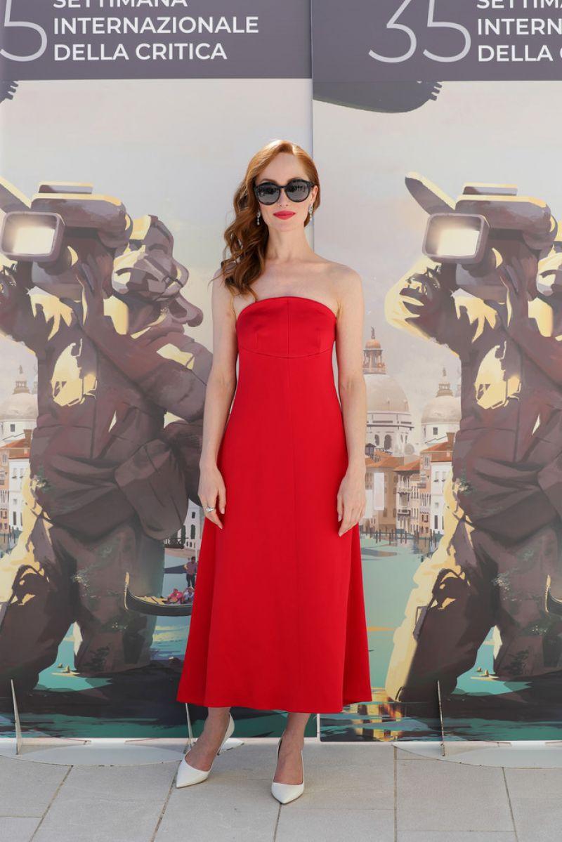 Lotte Verbeek Book Lvision Photocall 2020 Venice Film Festival