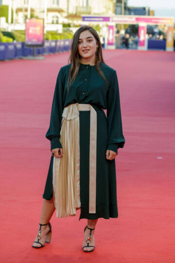 Luana Bajrami Les Deux Alfred Premiere 2020 Deauville American Film Festival