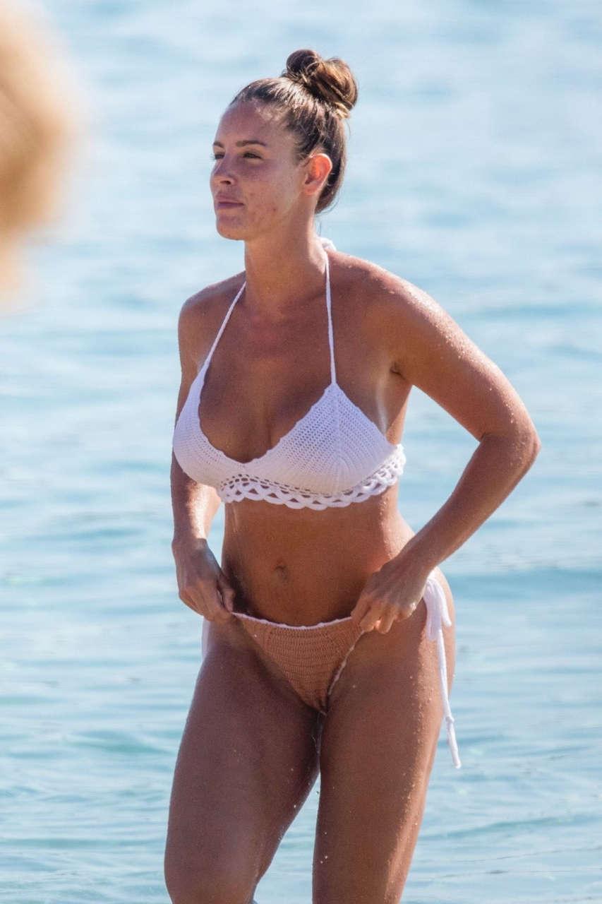 Lucia Javoreckova Bikini Beach Greece