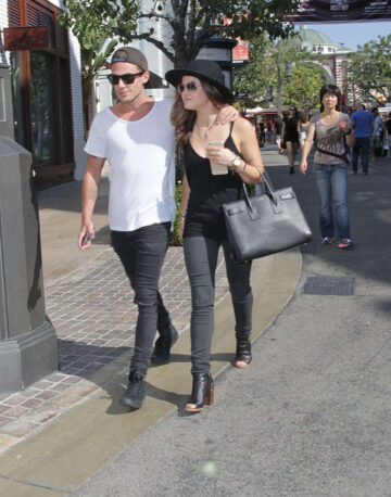 Lucy Hale Adam Pitts Grove West Hollywood
