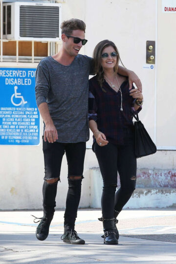 Lucy Hale Adam Pitts Out About Los Angeles