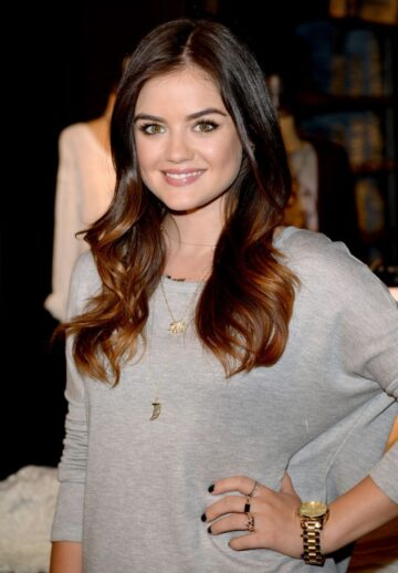 Lucy Hale Her Collection Launch Hollister Store Los Angeles