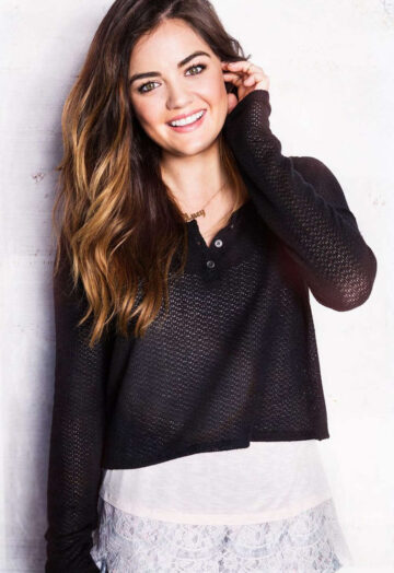Lucy Hale Hollister Clothing Promoshoot