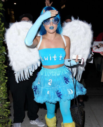 Lucy Hale Matthew Morrisons Halloween Party West Hollywood