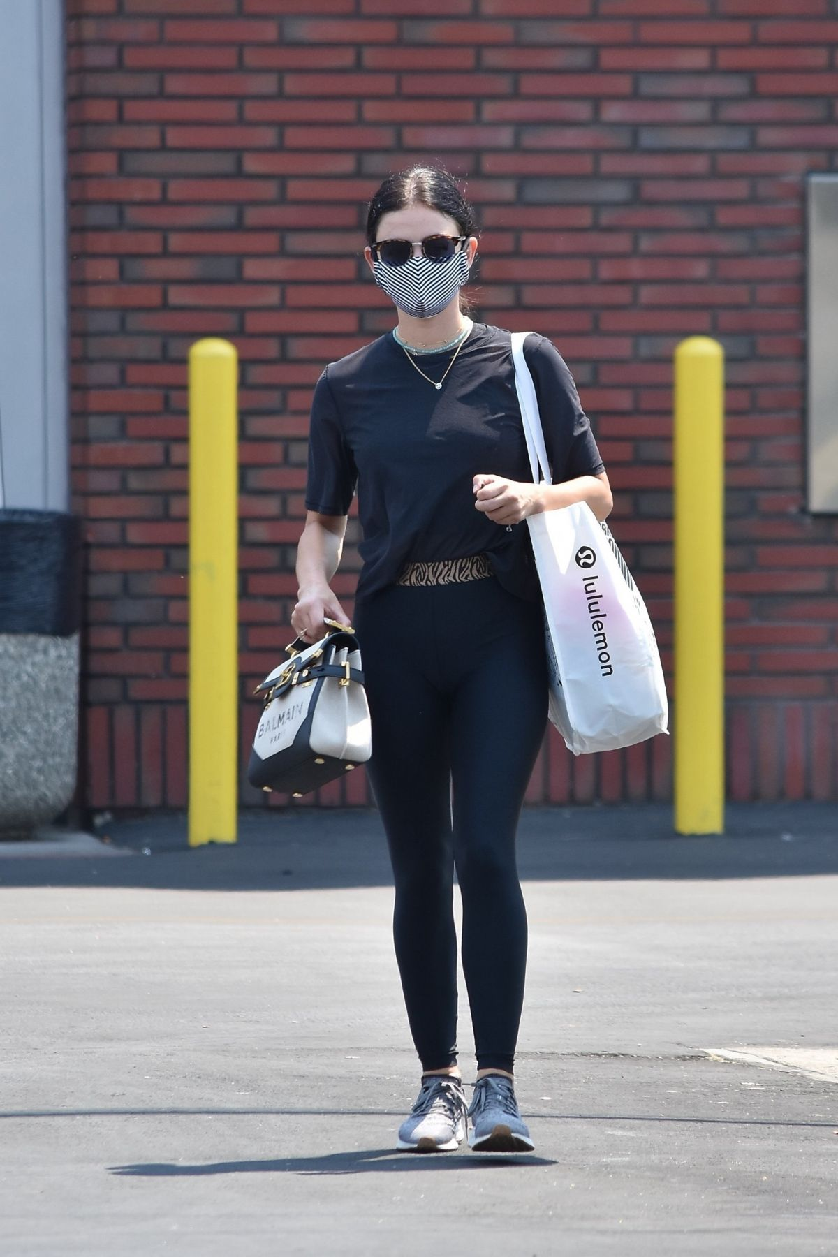 Lucy Hale Out About Studio City
