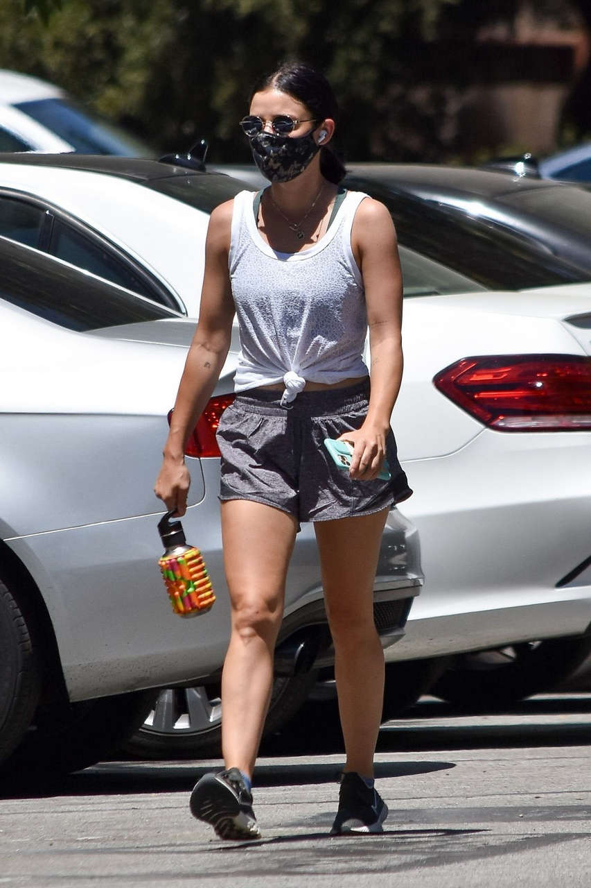 Lucy Hale Out Hiking Studio City