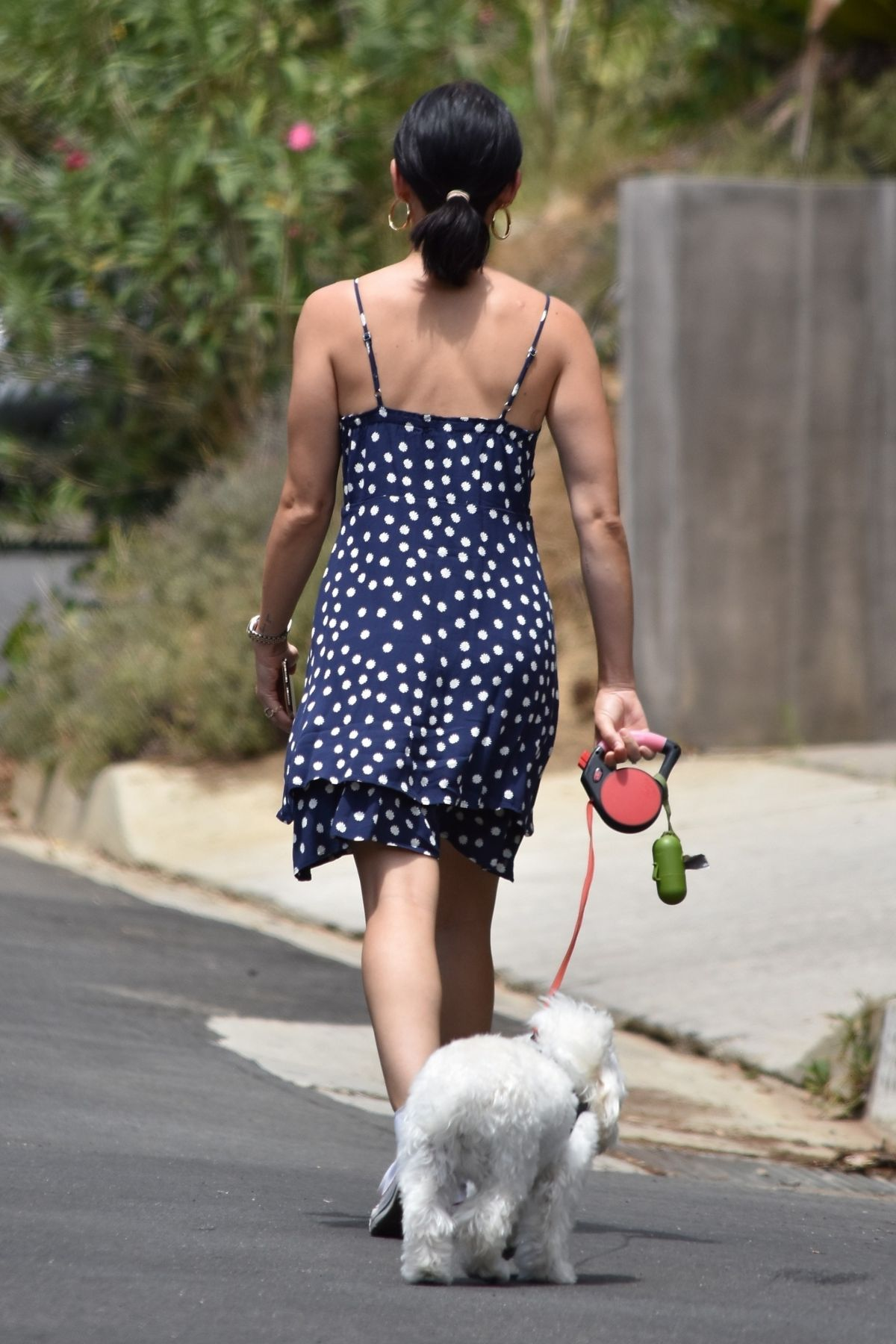 Lucy Hale Out With Elvis Studio City