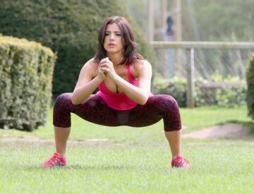 Lucy Mecklenburgh Fitness Camp Shropshire
