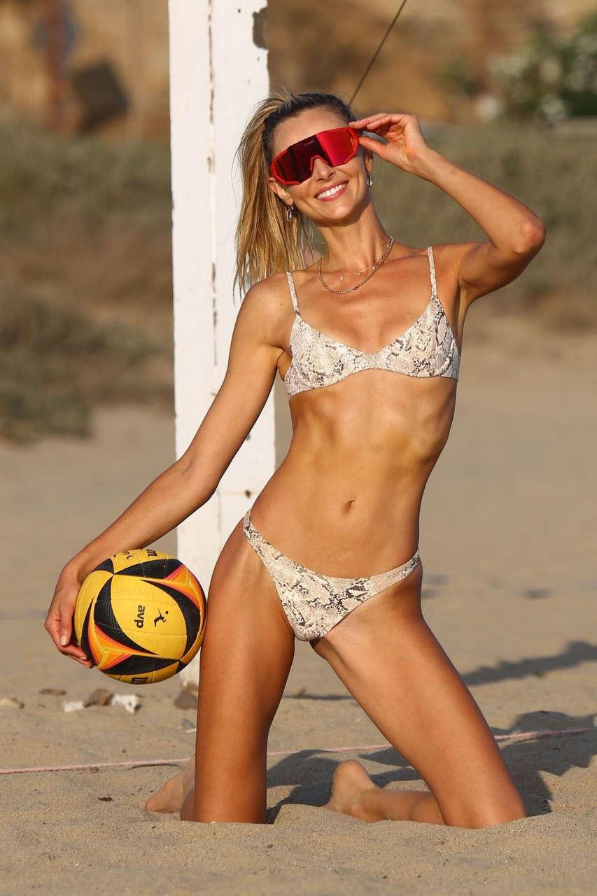 Ludi Delfino Bikini Beach Malibu