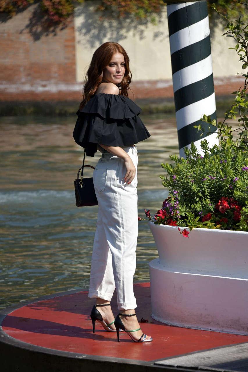 Ludovica Bizzaglia Arrives Hotel Excelsior Venice